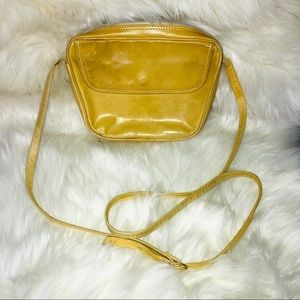 Vintage Nordstrom made in Italy leather Crossbody